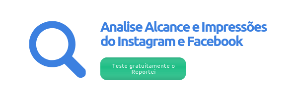 Analise alcance do Instagram e Facebook