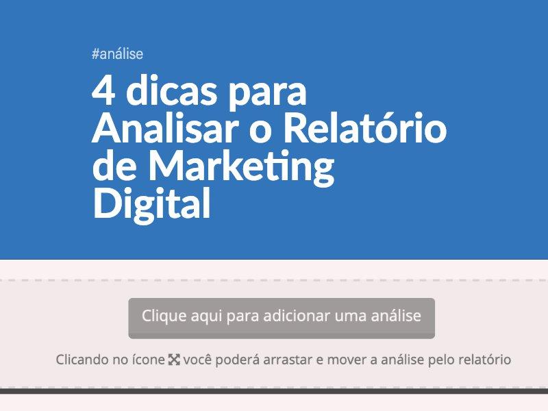 4 Dicas para Analisar o Relatório de Marketing Digital
