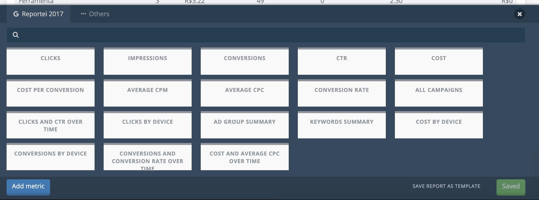 Custom Google Ads analysis