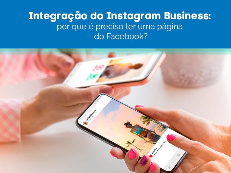 Usuários utilizando o Instagram Business