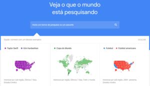 Google trends gráficos de analise