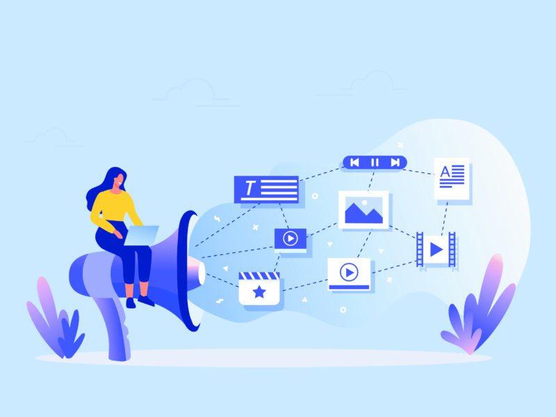 computadora utilizada para marketing digital