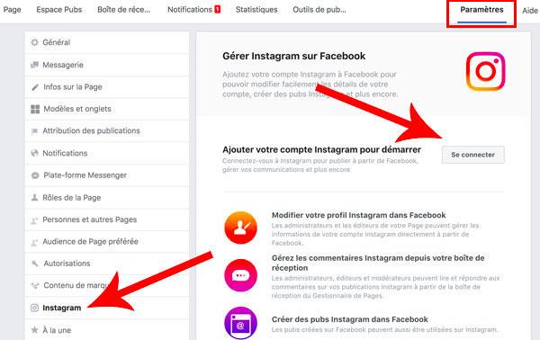 Analyser la connexion Instagram
