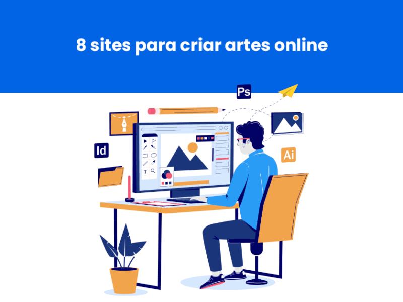 sites para criar artes online